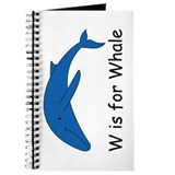 W is for Whale Journal