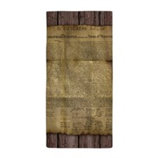 The Declaration of Independence Beach Towel