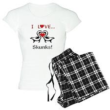 I Love Skunks Pajamas