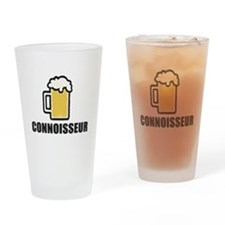 Beer Connoisseur Drinking Glass
