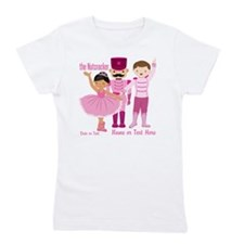 Personalize Pink Nutcracker Girl's Tee