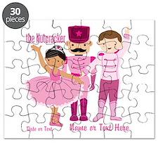 Personalize Pink Nutcracker Puzzle