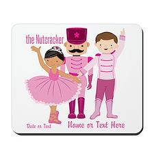Personalize Pink Nutcracker Mousepad