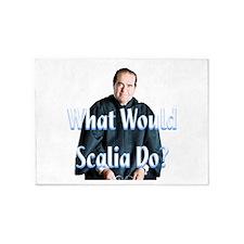 What Would Scalia Do 5'x7'Area Rug