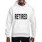 Retired (Front) Hooded Sweatshirt