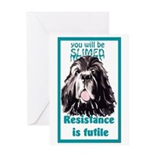 Resistance is Futile Greeting Cards