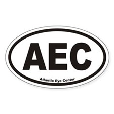 Atlantic Eye Center AEC Euro Oval Decal