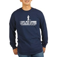 wayne_both Long Sleeve T-Shirt