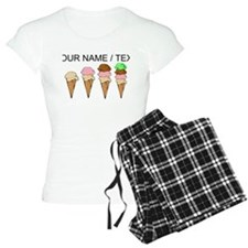 Custom Ice Cream Cones pajamas