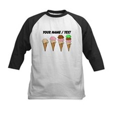 Custom Ice Cream Cones Baseball Jersey
