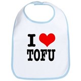 I Heart (Love) Tofu Bib