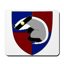 Badger Crest Mousepad