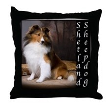 Sheltie - Shetland Sheepdog Throw Pillow