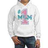 #1 Mom Pink Jumper Hoody