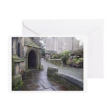 Haworth Chapel England Greeting Card