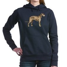 Irish Wolfhound Hooded Sweatshirt