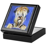 Curious Wheaten Keepsake Box