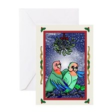 Christmas Bird3 Card Greeting Cards