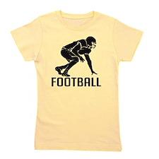 Football Girl's Tee