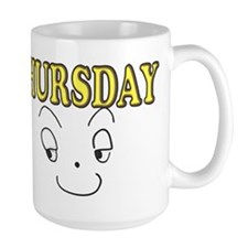 Thursday funny face Mugs