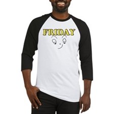Friday funny face Baseball Jersey
