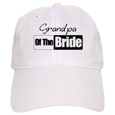 Grandpa of the Bride Baseball Cap