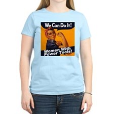 Women with Power Tools T-Shirt