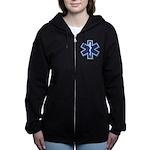 EMS EMT Rescue Logo Zip Hoodie