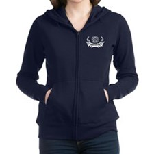 Firefighter Tattoo Zip Hoodie