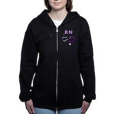 RN Nurse Medical Women's Zip Hoodie