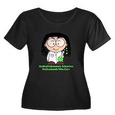 Medical Laboratory Professionals Plus Size T-Shirt