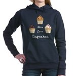Live Love Cupcakes Hooded Sweatshirt