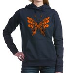 butterfly high.png Hooded Sweatshirt