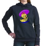 pretty baby duck.png Hooded Sweatshirt