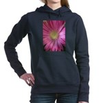 Pink Daisy Hooded Sweatshirt