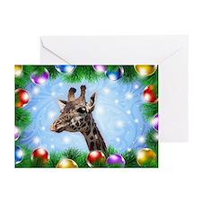 Happy Giraffe Greeting Cards