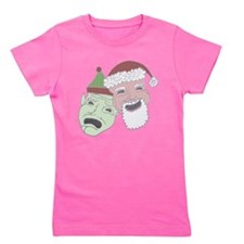 comedysantaclear.png Girl's Tee