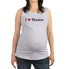ilovetheatre.png Maternity Tank Top