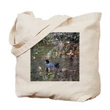 Reflective Coot Tote Bag