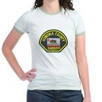 Sonoma County Sheriff Jr. Ringer T-Shirt