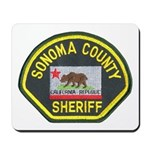 Sonoma County Sheriff Mousepad
