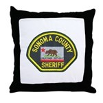 Sonoma County Sheriff Throw Pillow