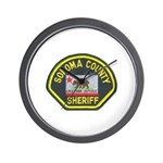Sonoma County Sheriff Wall Clock