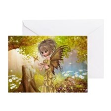 Little Fall Fairy Greeting Card