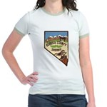 Eureka County Sheriff Jr. Ringer T-Shirt