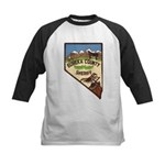 Eureka County Sheriff Kids Baseball Jersey