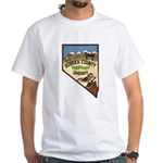 Eureka County Sheriff White T-Shirt