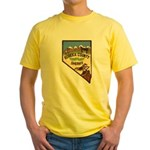 Eureka County Sheriff Yellow T-Shirt