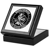 Minuteman Civil Defense Keepsake Box