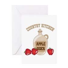 COUNTRY KITCHEN Greeting Cards